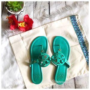 Tory Burch Island Turquoise Miller Sandal